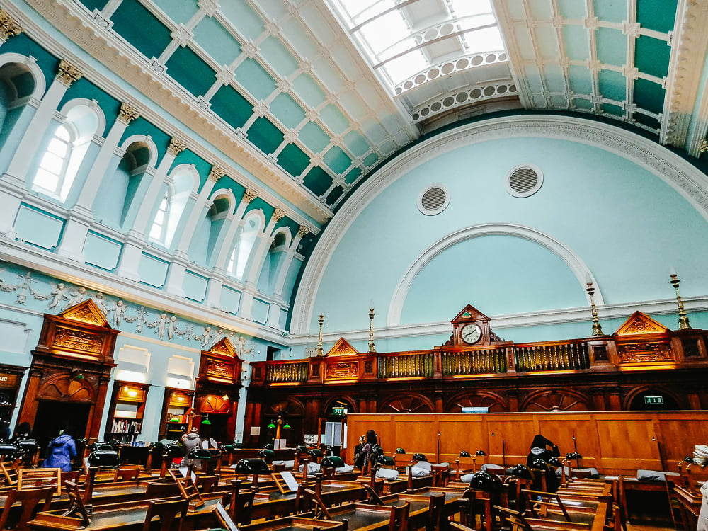Reading Room, National Library of Ireland