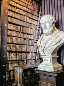 Marble Bust, Trinity College Old Library, Dublin