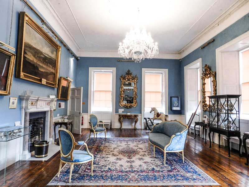 Withdrawing Room in the Bishop's Palace, Waterford, Ireland