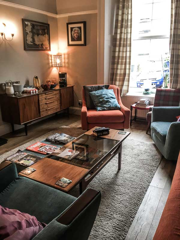 The Lounge, Munro Guest House, Stirling