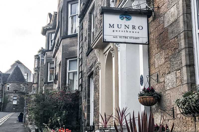 Where to Stay in Stirling, Scotland | Munro Guest House