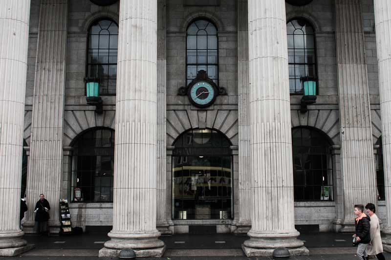 General Post Office on O'Connell Street, starting point of your self-guided tour of Dublin