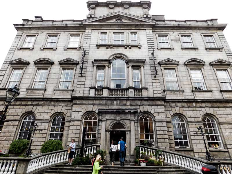 Visit Powerscourt Centre in Dublin while on your self-guided tour of the city