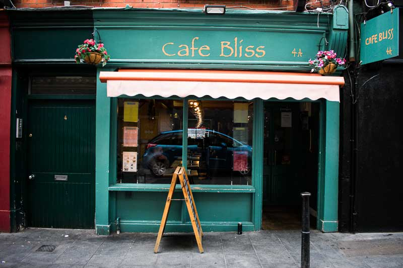 Cafe Bliss, Camden Street, Dublin