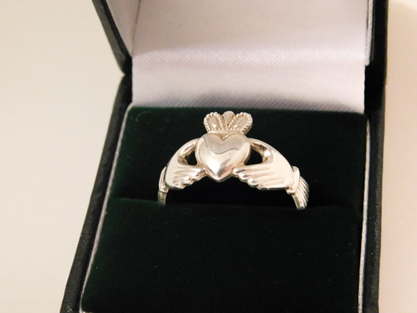 Claddagh Ring made of Sterling silver