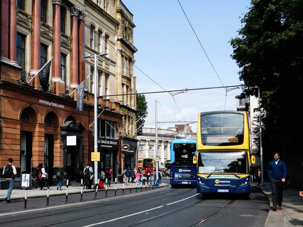 Buses in Dublin, Ireland