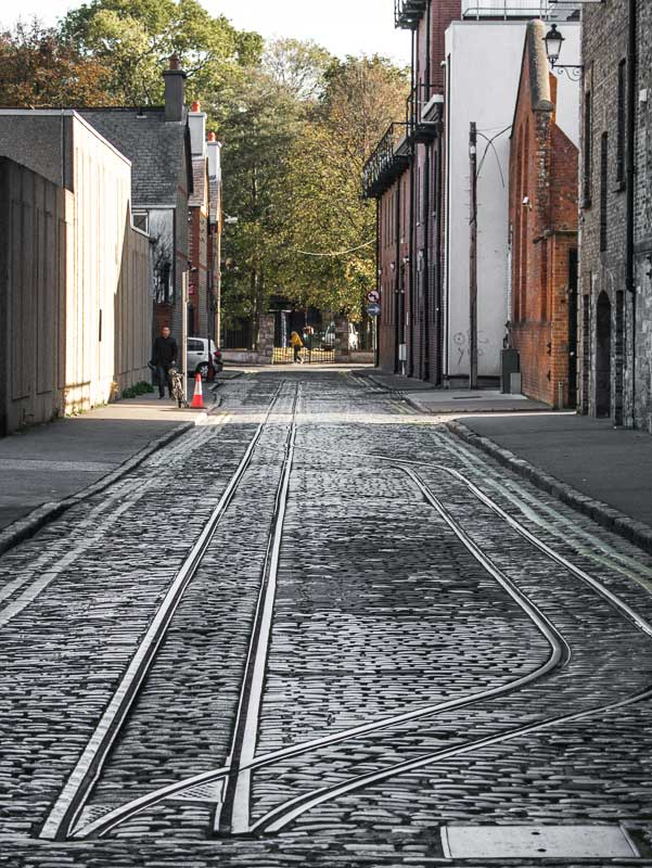 Old Railway Tracks, The Guinness Storehouse, Dublin