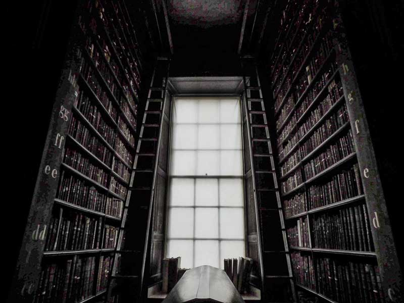 The Old Library in Trinity College, Dublin