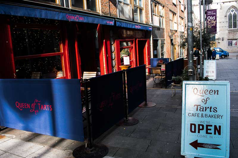 Queen of Tarts, Cafe and Bakery in Temple Bar, Dublin