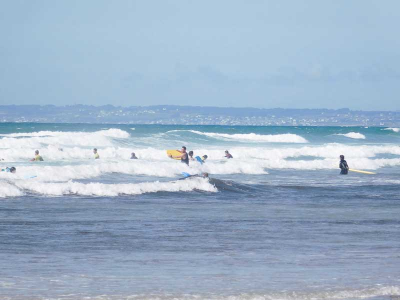 Surf Lessons in La Torche, Brittany