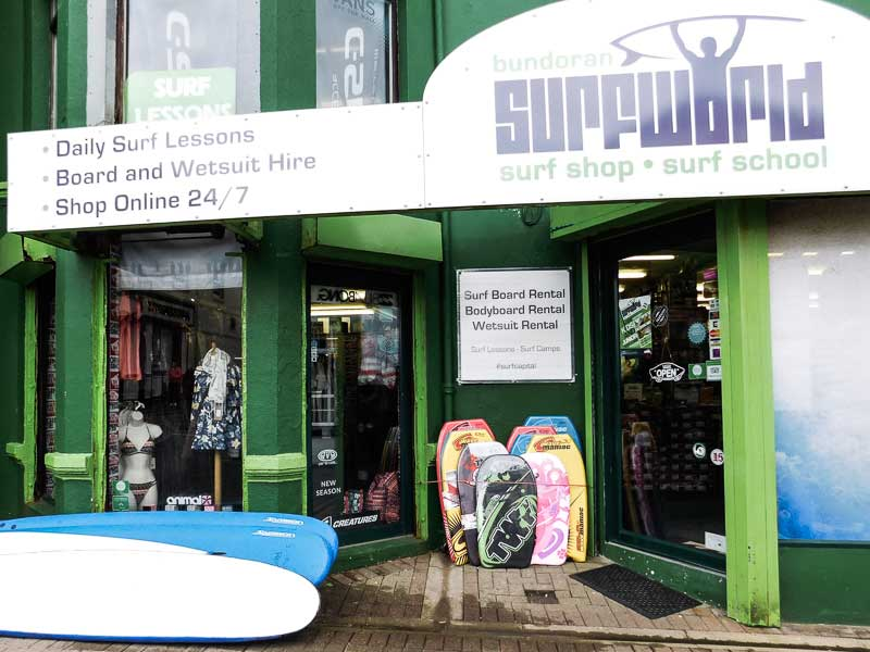 Surf School in Bundoran, Ireland