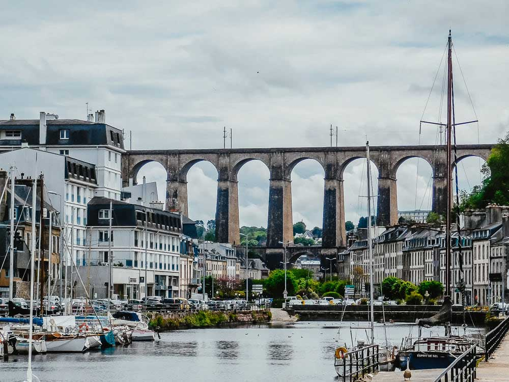 Viaduct of Morlaix, Brittany, France