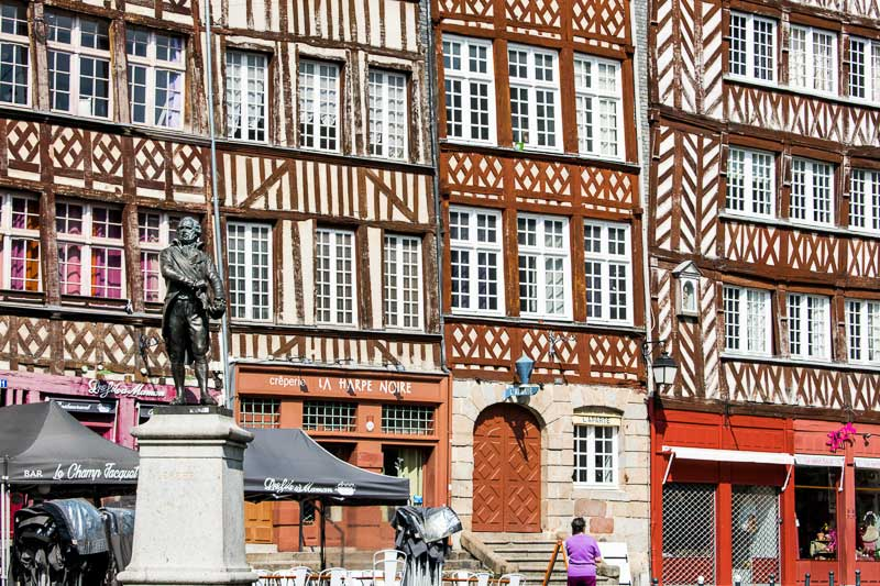 Searching for the Best Creperies in Old Town Rennes