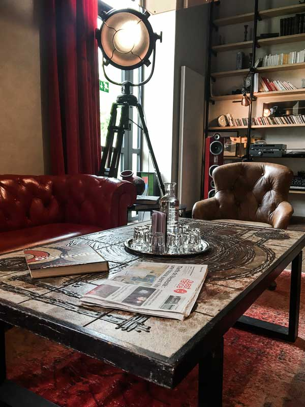 Lounge area, Magic Hall, Boutique Hotel in Rennes