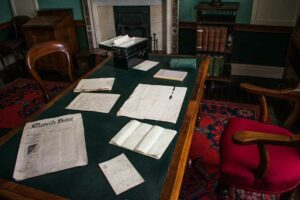 The Pearse Museum, Patrick Pearse's Office, Dublin, Ireland