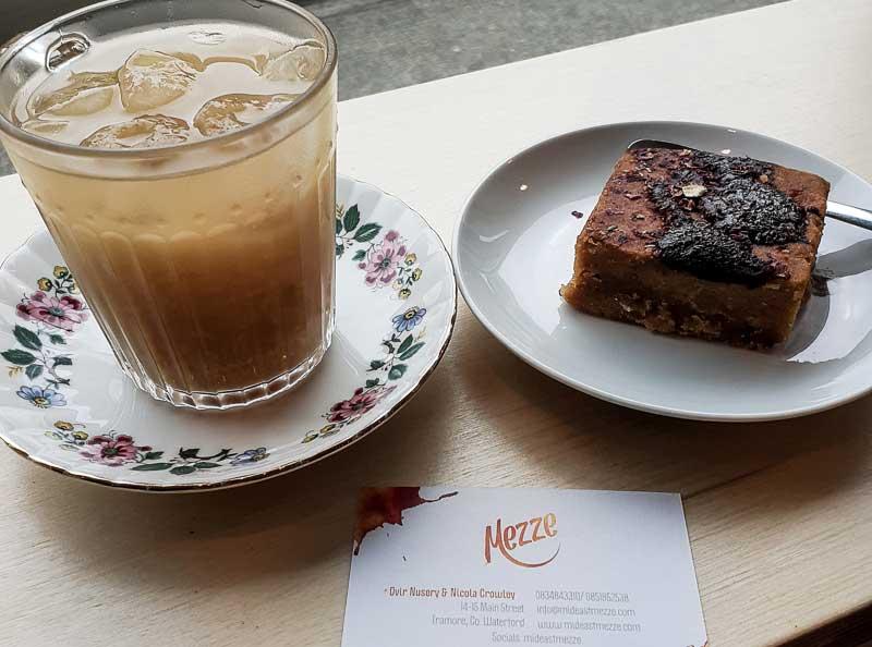 Mezze Cafe in Tramore