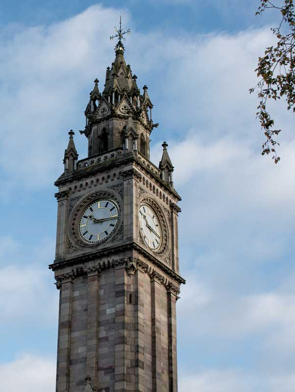 Albert Memorial Clock, Belfast, Northern Ireland