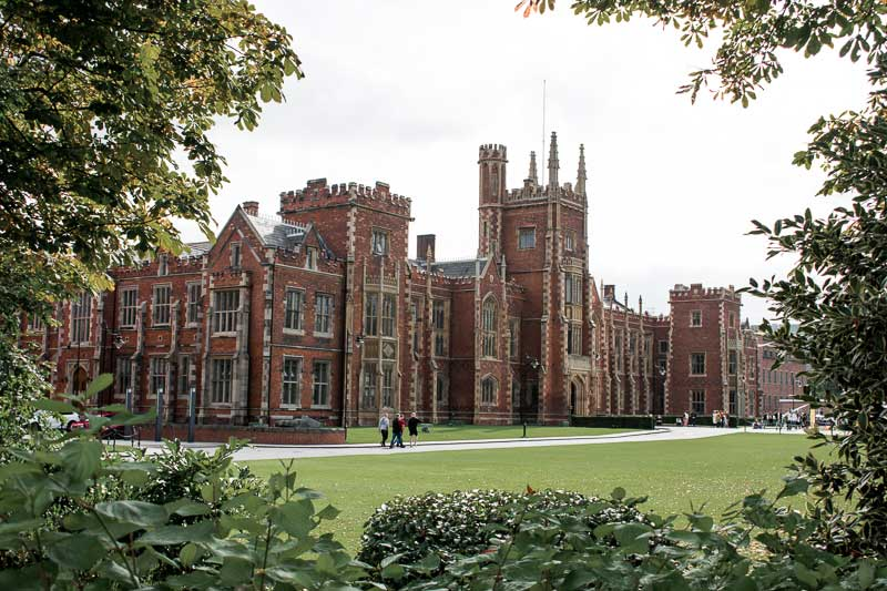 Don't miss Queen's University while in Belfast for 48 hours