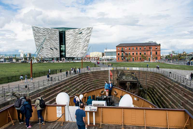 SS Nomadic & The Titanic Museum, Belfast, Northern Ireland