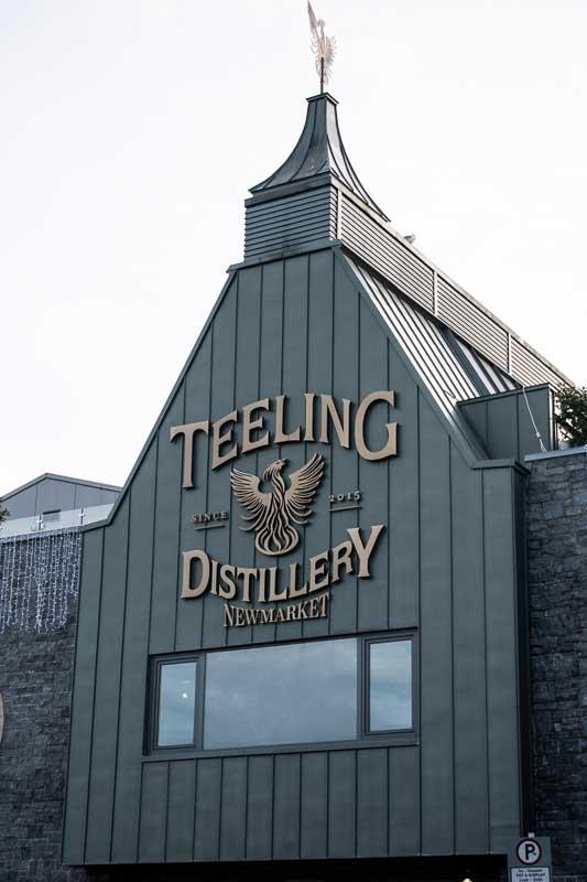The Teeling Distillery in Dublin