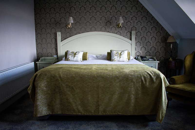 Double room at the Randles Hotel, luxurious getaway in Co. Kerry
