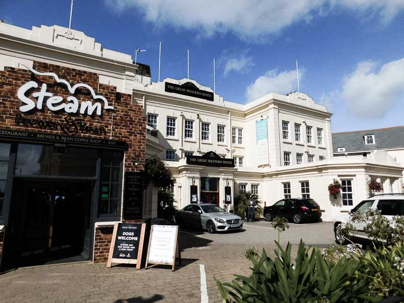 The Great Western Hotel in Newquay