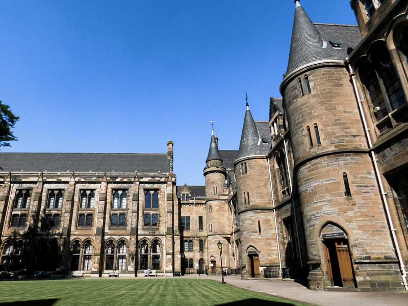 Visit the University of Glasgow during your weekend trip