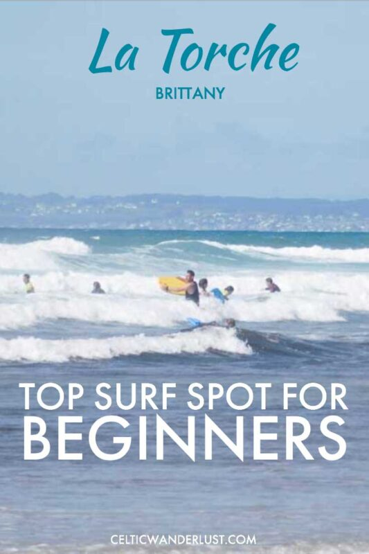 La Torche in Brittany, Best Surf Spot for Beginners