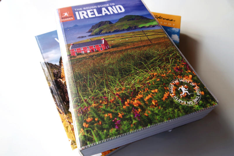 The Rough Guide to Ireland, one of the best guidebooks to Ireland