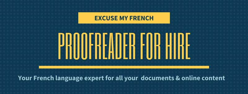 Freelance French Proofreading Services
