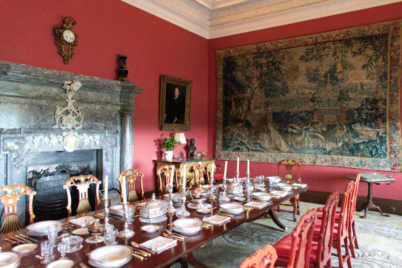 Dining Room, Russborough House, Co. Wicklow