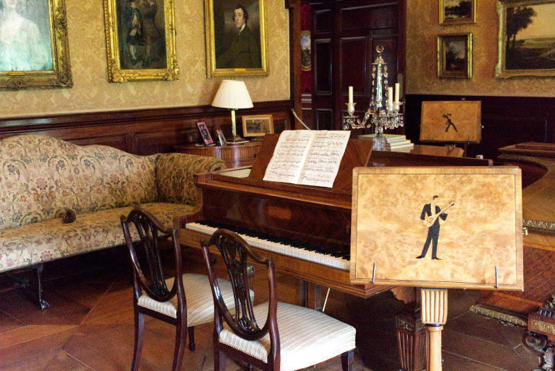 Music Room, Russborough House, Co. Wicklow